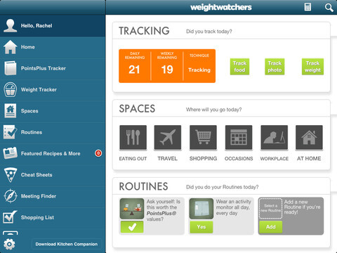 Updated Weight Watchers 360° app launches for iOS and Android with Snap&Track