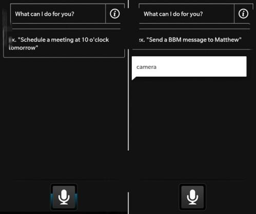BlackBerry voice assistant