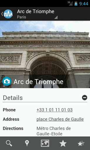 Paris Travel Guide by Triposo