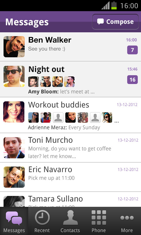 Viber new update