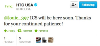 HTC USA says Android 4.0 is coming to the HTC ThunderBolt