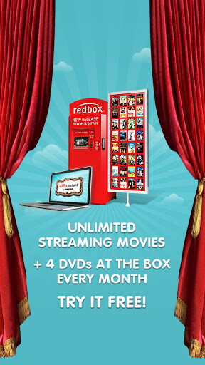 More screenshots from Redbox Instant