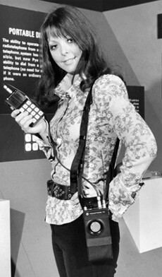A phone model from 1972