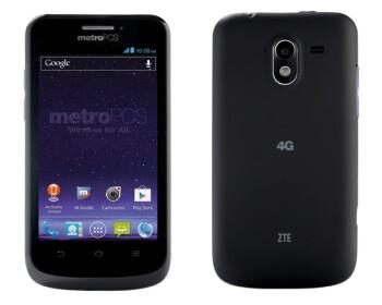 The ZTE Avid 4G for MetroPCS