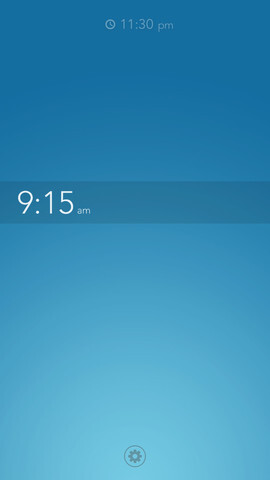 Rise Alarm Clock redefines simplicity in a clock app with new interface ideas