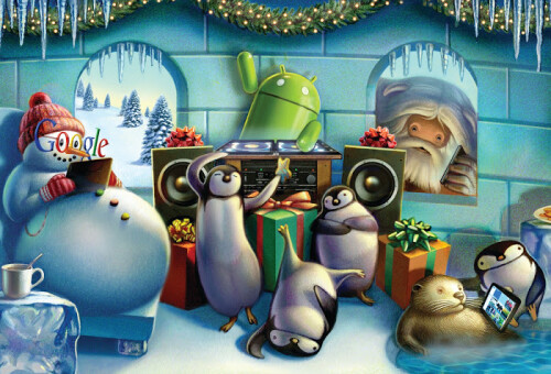 Google unwraps Android holiday wallpapers