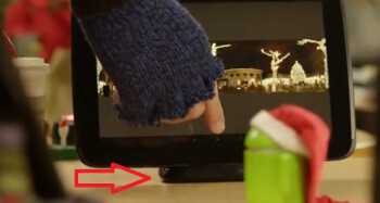 An audio dock for the Google Nexus 10 appears on Google's video