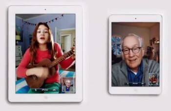 The latest Apple iPad mini ad