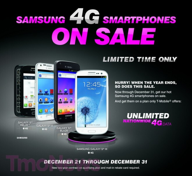 Samsung Classic Plan members have a sale of their own - T-Mobile's Classic Plan customers have their own sale
