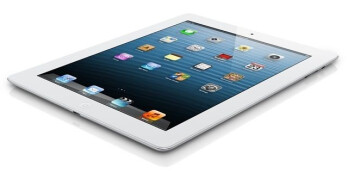 The fourth-generation iPad
