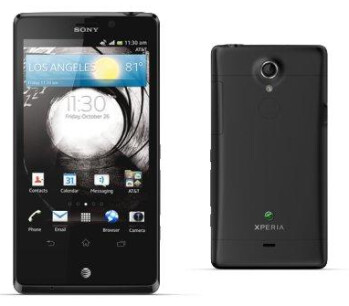 The Sony Xperia TL
