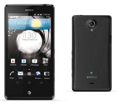 The Sony Xperia TL - Video shows Sony Xperia TL running Android 4.1.2