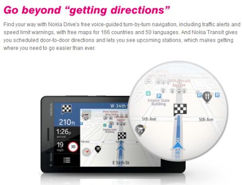 Nokia Lumia 810 features