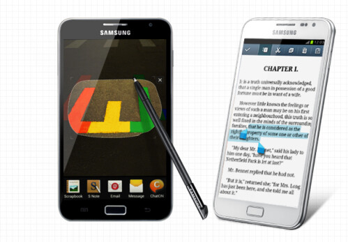 Samsung Galaxy Note will get Jelly Bean: new features