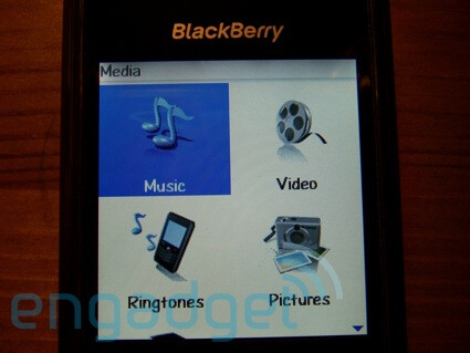 New RIM device - Blackberry 8100