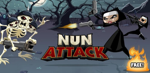 Nun Attack by Frima Studio, Inc. (FREE)