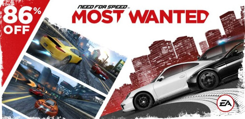 Need For Speed: Most Wanted by EA (86% off on sale)