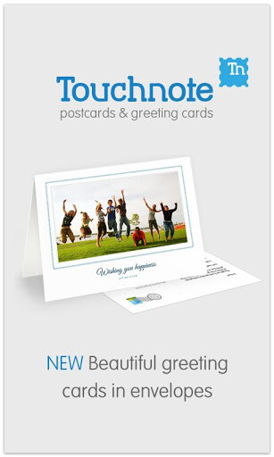 Touchnote Cards