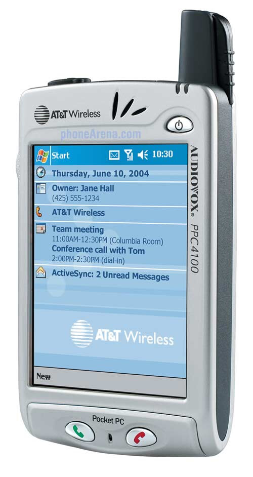 At Amp T Wireless To Offer Audiovox Pocket Pc 2003 Device