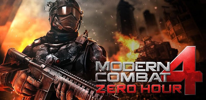 Modern Combat 4: Zero Hour - Android, iOS, Windows Phone 8