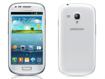The Samsung Galaxy S III mini