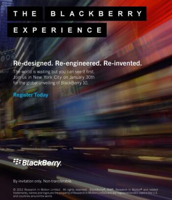 BlackBerry 10 is coming