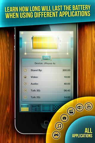 Screenshots from Battery