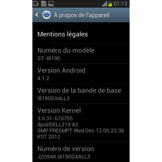 In some Asian countries, Android 4.1.2 comes out of the box on the Samsung Galaxy S III mini - Samsung Galaxy S III mini now ships with Android 4.1.2 in Asia