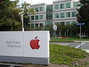 The IP address of the testing shows it coming from the Cupertino campus