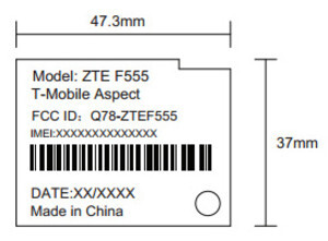 T-Mobile Aspect photos appear at the FCC
