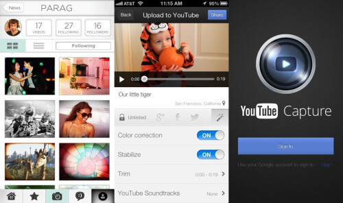 YouTube Capture - iOS - Free