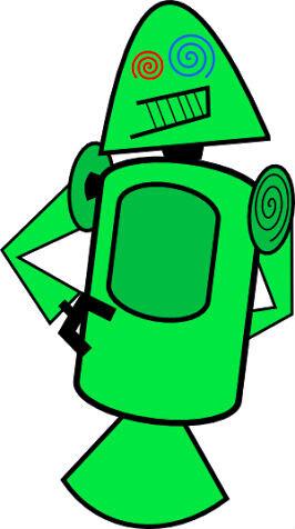Googler shows off slightly deranged original Android mascot