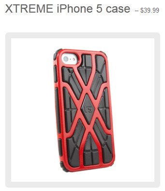 The Xtreme case for the Apple iPhone 5