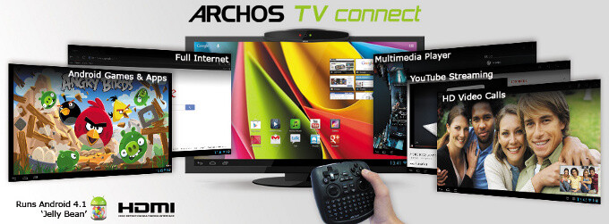 This is the Android set-top box we've been dreaming of: Archos TV Connect turns your TV into Jelly Bean device
