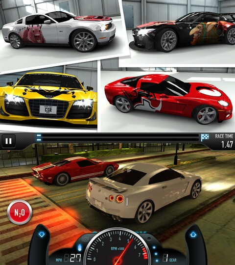 CSR Racing - iOS - Free