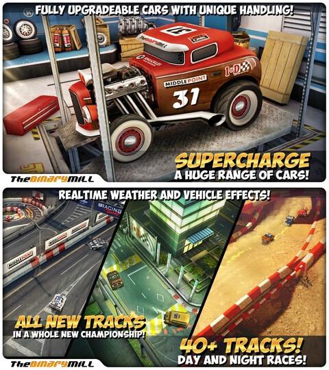 Mini Motor Racing - Android, iOS - $0.99