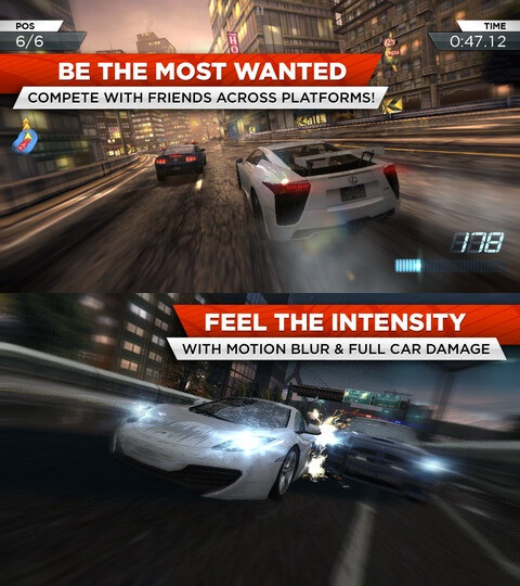 Need for Speed: Most Wanted - Android, iOS - $0.99