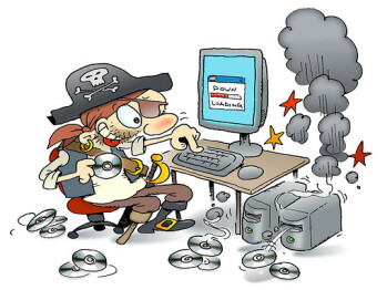 A software pirate