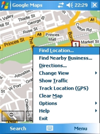 In the old days, Google Maps had an app for Windows Mobile