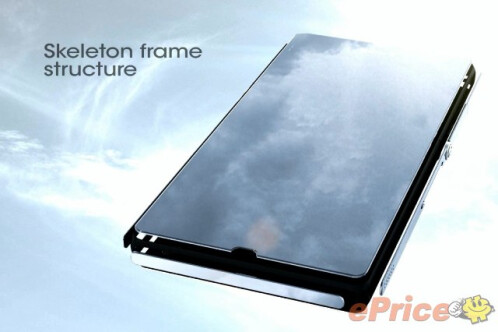 Leaked images show Sony Xperia Z frame and camera breakdown
