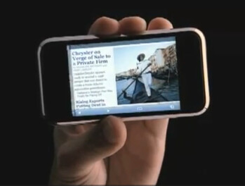 This is the web, says 2007 Apple iPhone ad