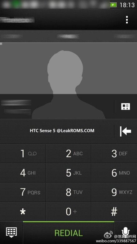 Possible keyboard and dialer from HTC Sense 5.0 leaked