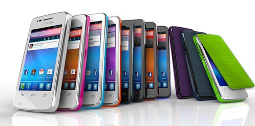 Alcatel One Touch Pop is a fresh colorful palette of entry-level Androids