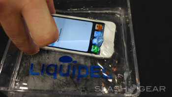 This Apple iPhone is protected by Liquipel