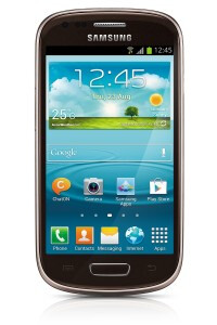 Samsung Galaxy S III Mini new hues official - Titan Gray, Amber Brown, Garnet Red and Onyx Black