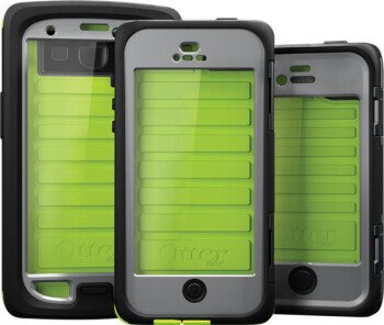 The new OtterBox Armor (L) and Defender Series with iOn Intelligence