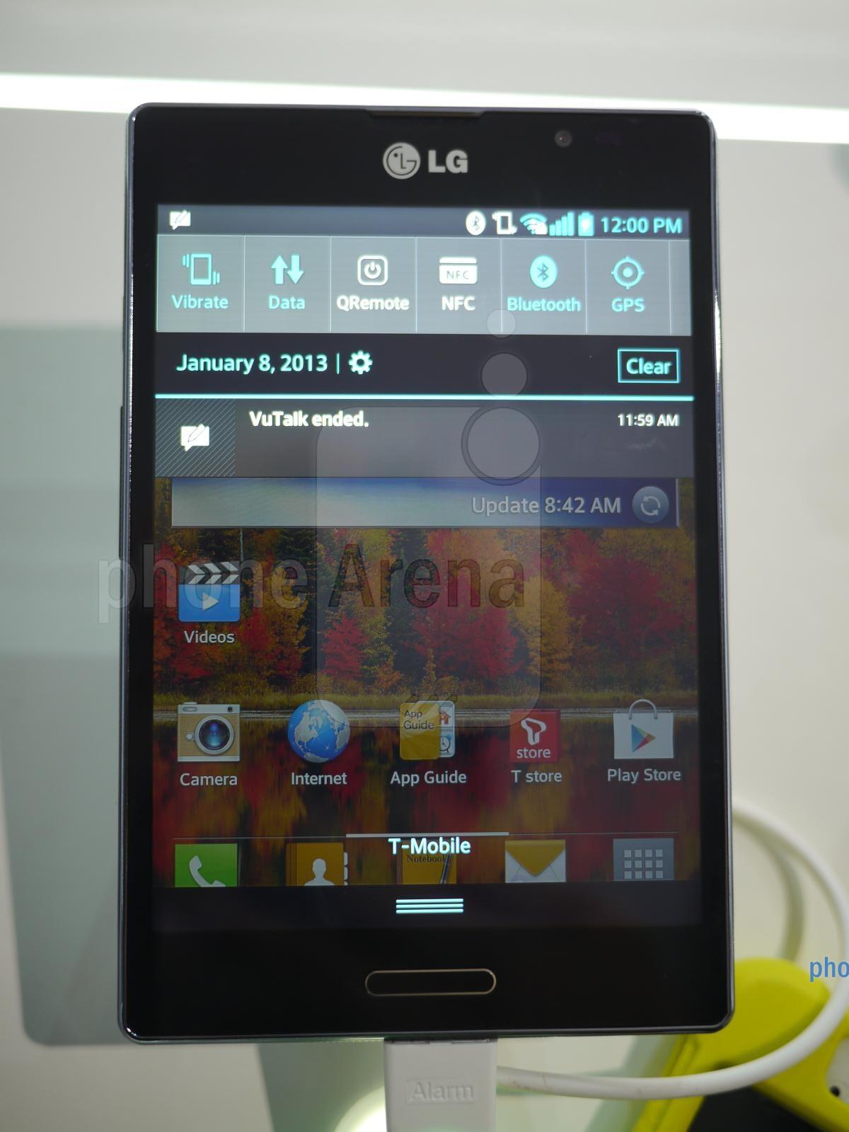 LG Optimus Vu II hands-on
