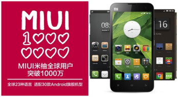 MIUI Android custom ROM hits 10 million users