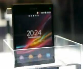 The Sony Xperia Z takes a bath at CES