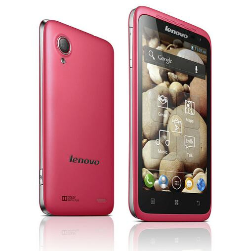 Android smartphones by Lenovo